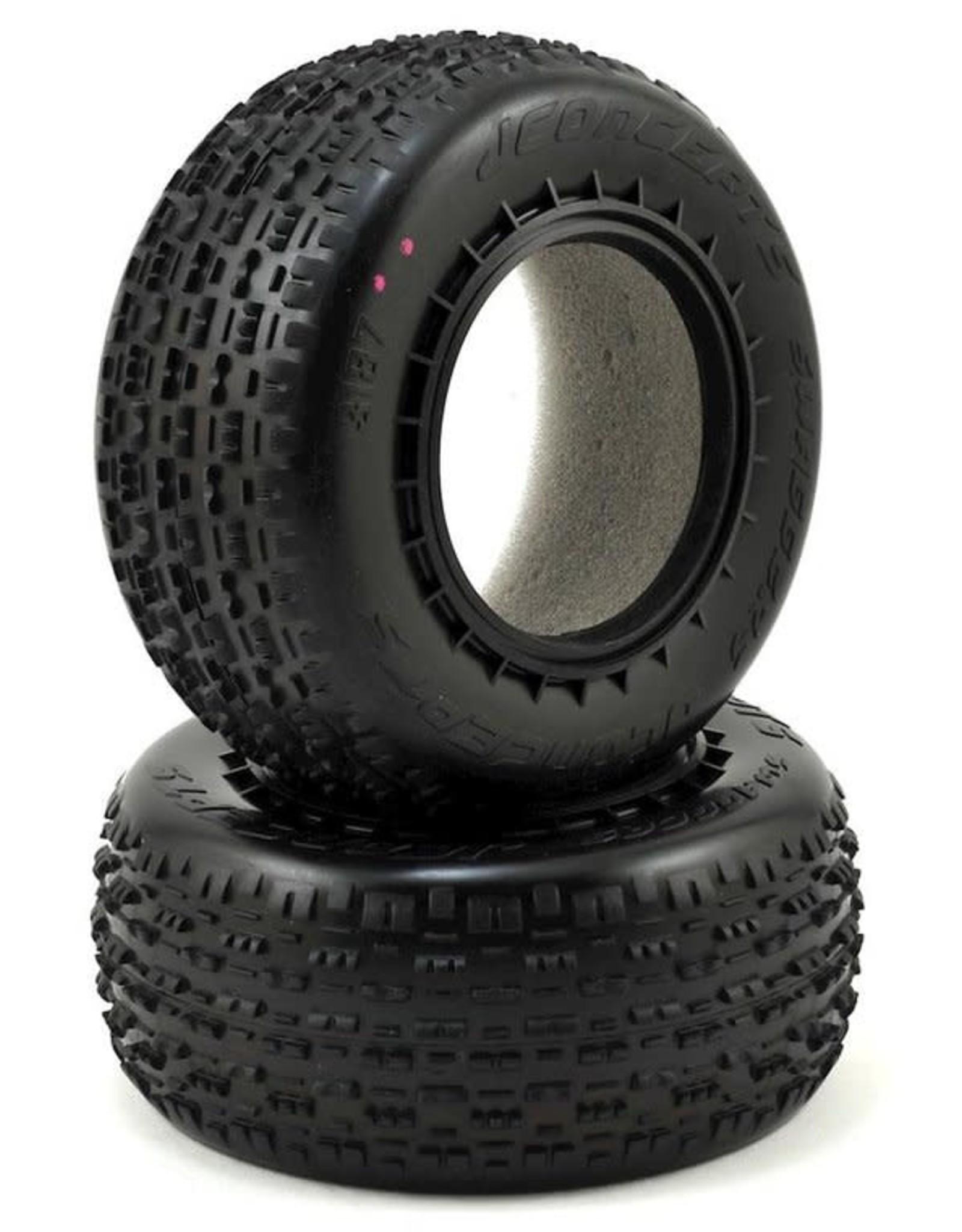 JConcepts JConcepts Swaggers Carpet Short Course Front Tires (2) (Pink) JCO3187-010