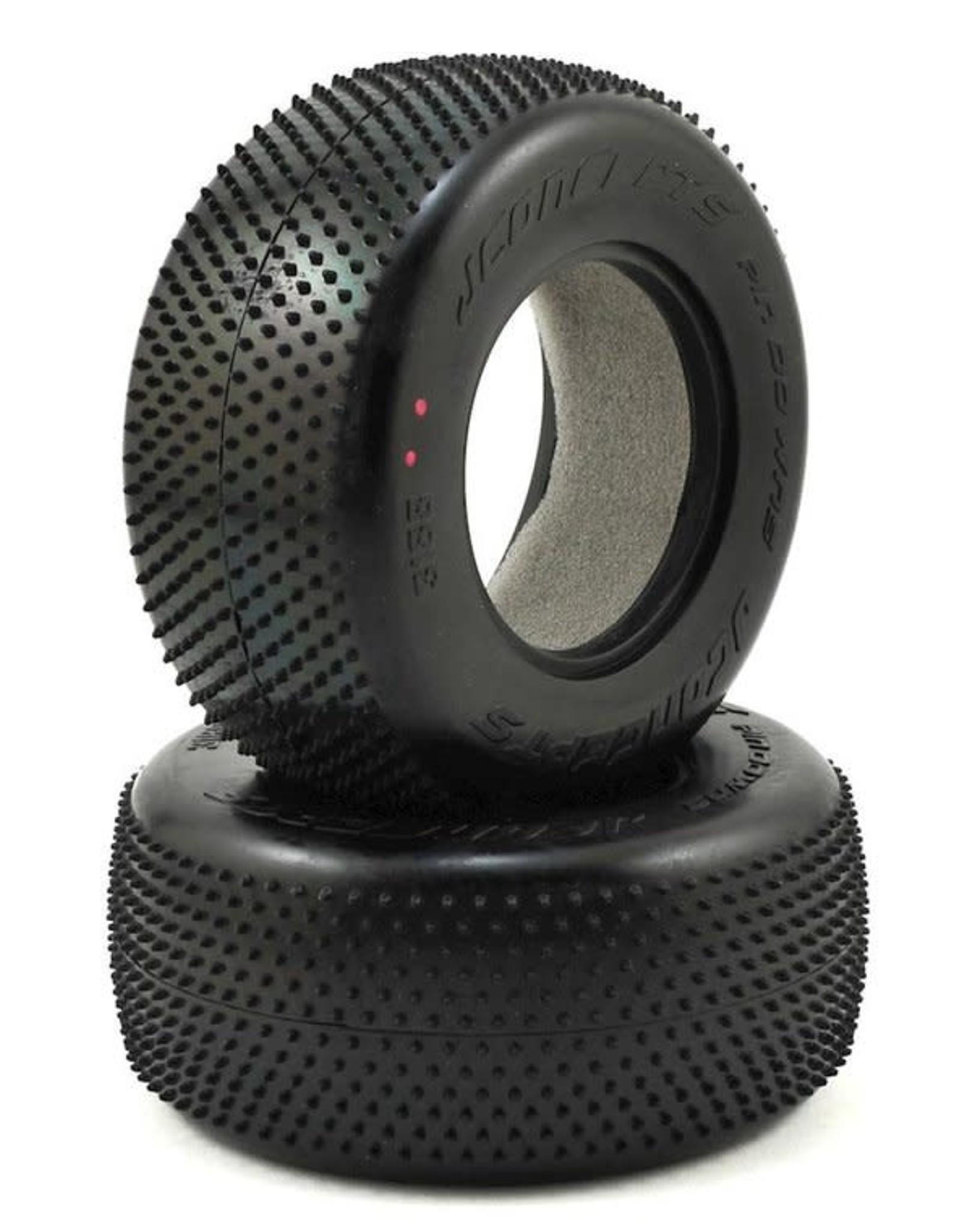 JConcepts JConcepts Pin Downs Carpet Short Course Tires (2) (Pink) JCO3188-010