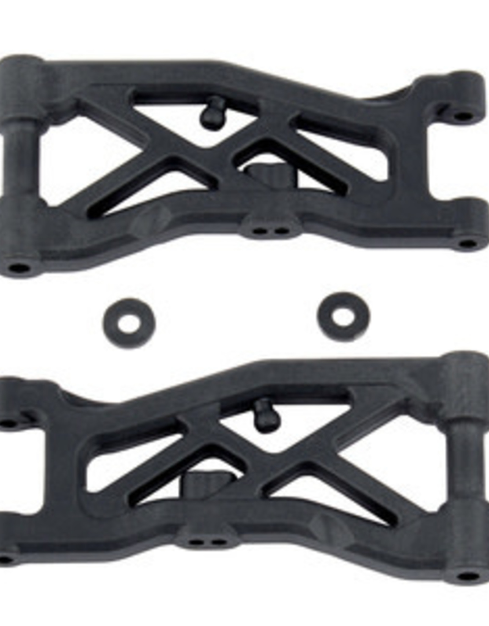 Associated Front Suspension Arms, for B74, Hard ASC92129