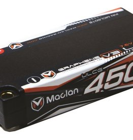 Maclan Racing Graphene V3 High Voltage ULCG 4500 mAh (7.6V) Shorty Battery