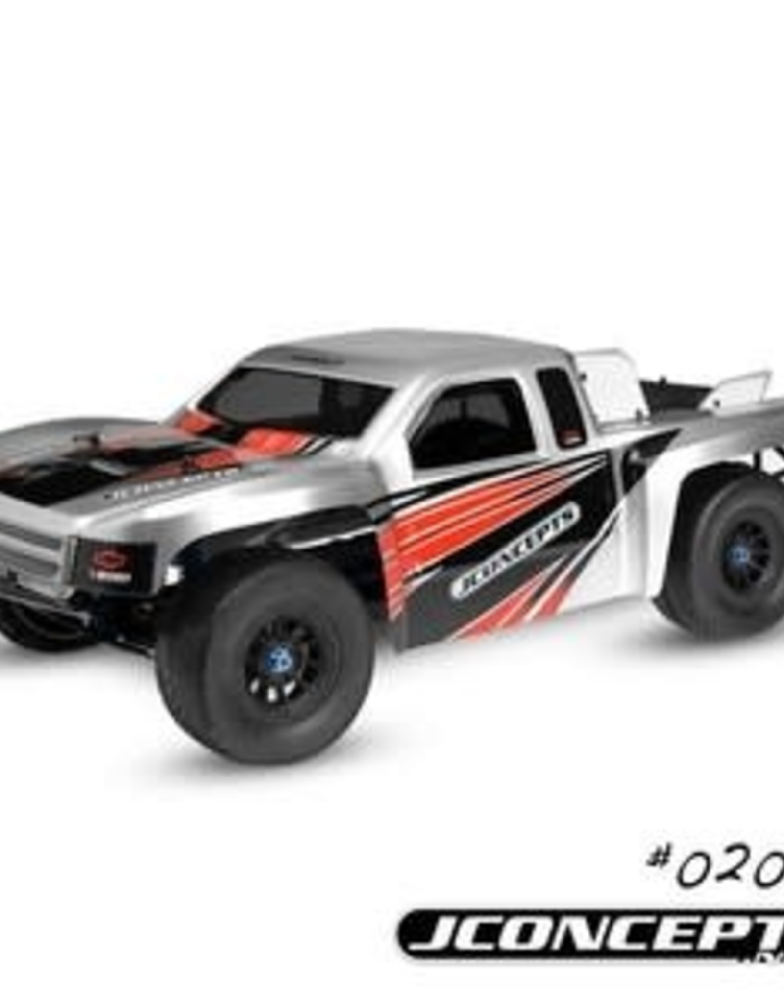 JConcepts Illuzion- 2012 Chevy Silverado 1500 SCT Hi-Flow Body