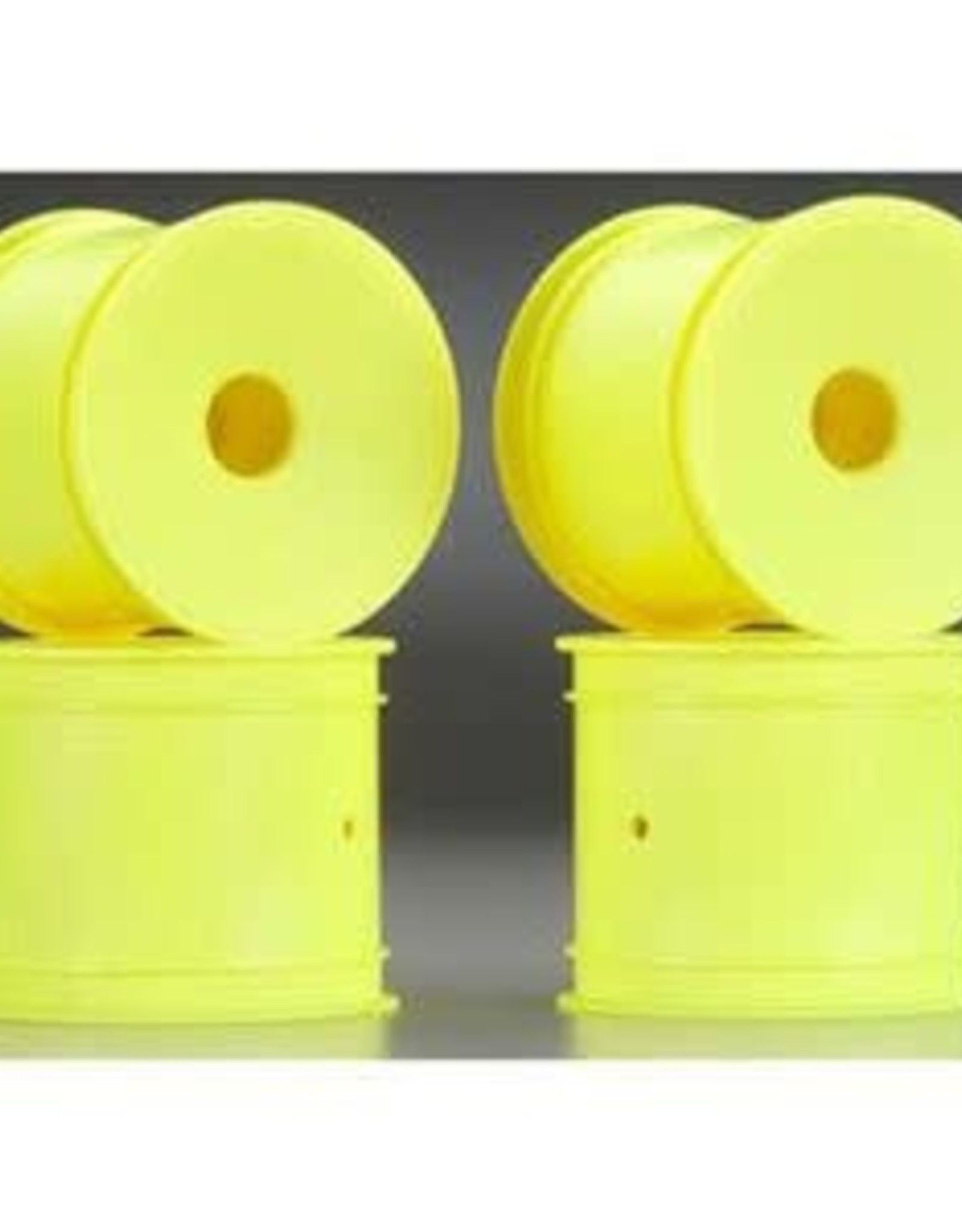 JConcepts Mono - T4.1 - 12mm Hex Front & Rear Wheel - Yellow - 4pc.