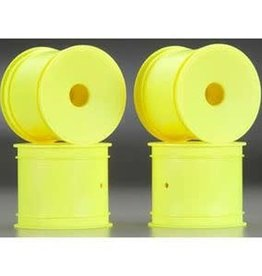 JConcepts Mono - T4.1 - 12mm Hex Front & Rear Wheel - Yellow - 4pc.