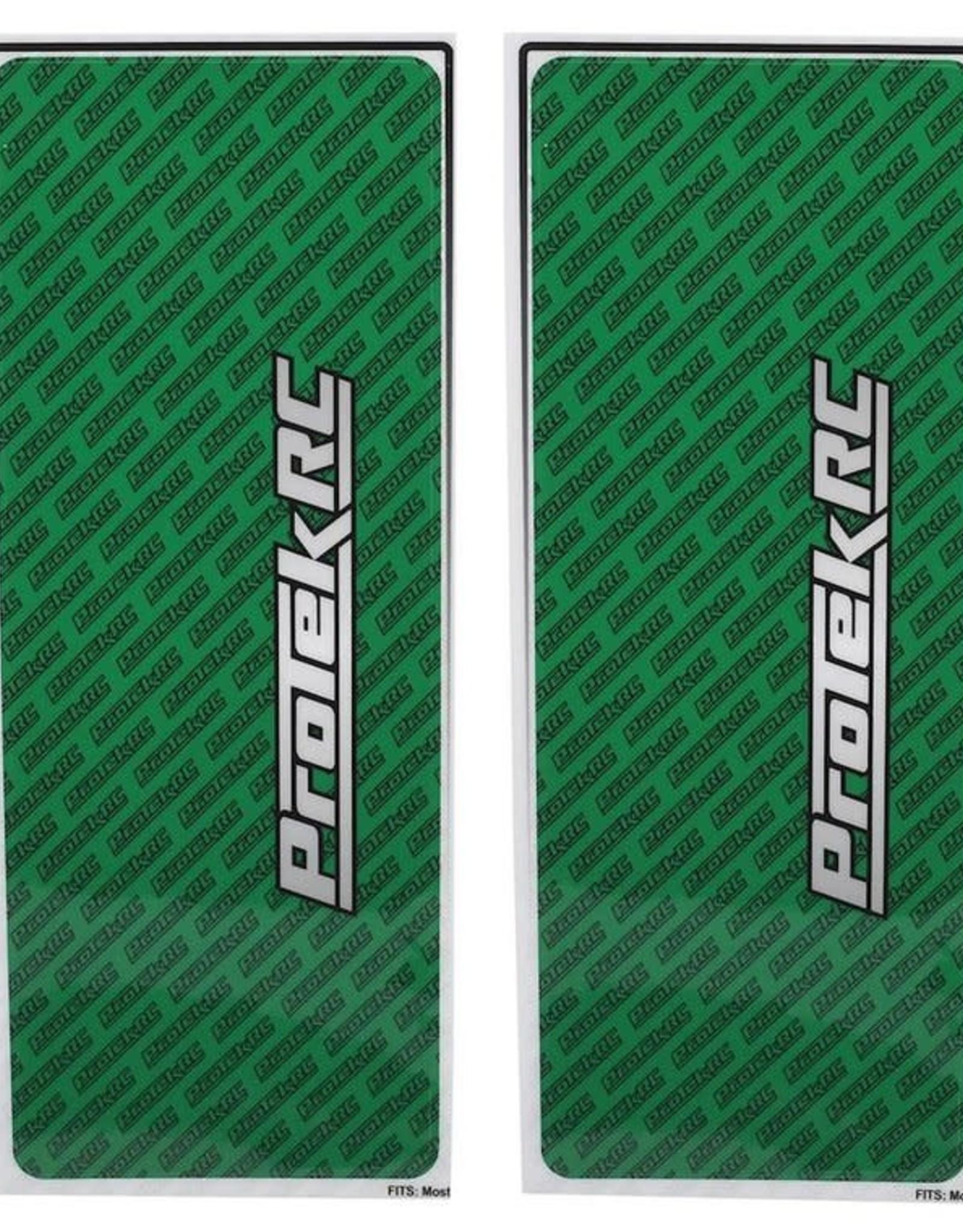 Protek RC ProTek RC Universal Chassis Protective Sheet (Green) (2) (12.5x33.5cm)