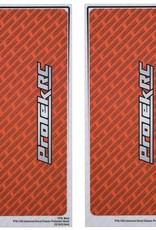 Protek RC ProTek RC Universal Chassis Protective Sheet (Orange) (2) (12.5x33.5cm)