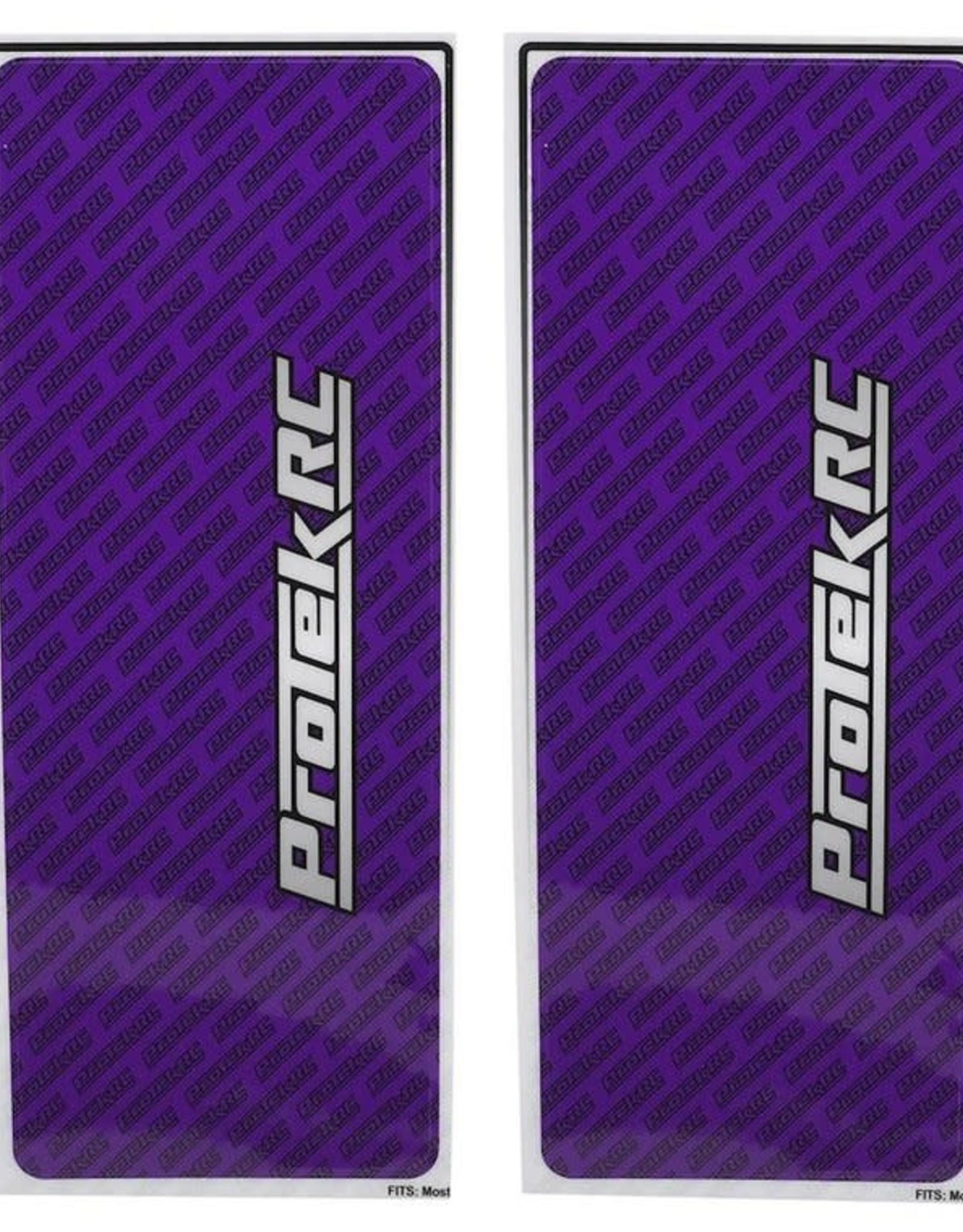 Protek RC ProTek RC Universal Chassis Protective Sheet (Purple) (2) (12.5x33.5cm)
