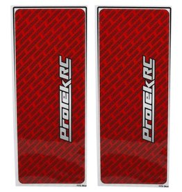 Protek RC ProTek RC Universal Chassis Protective Sheet (Red) (2) (12.5x33.5cm)