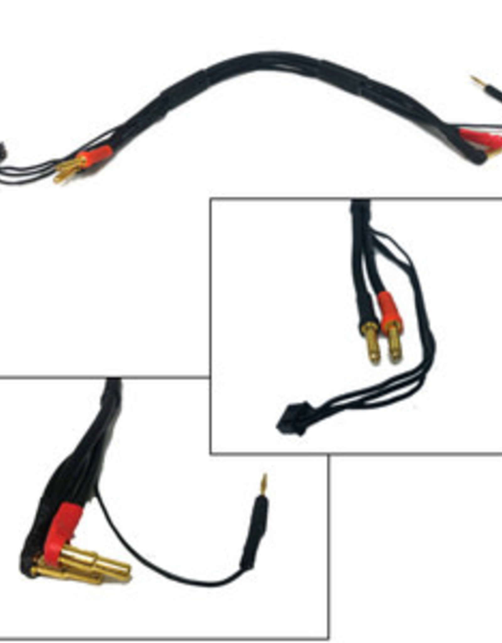 Lipo Charge Cable w/ Bullet Plug