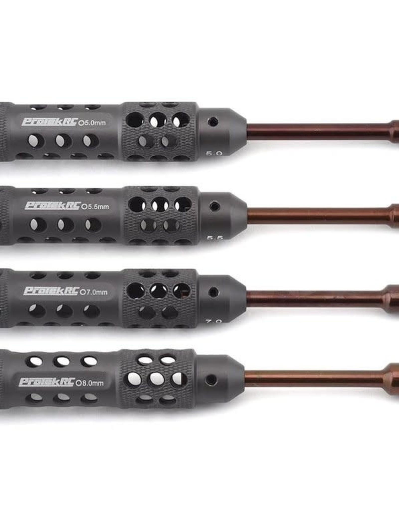 """Protek RC ProTek RC """"TruTorque SL"""" 4-Piece Metric Nut Driver Set (5.0, 5.5, 7.0, 8.0mm)"""