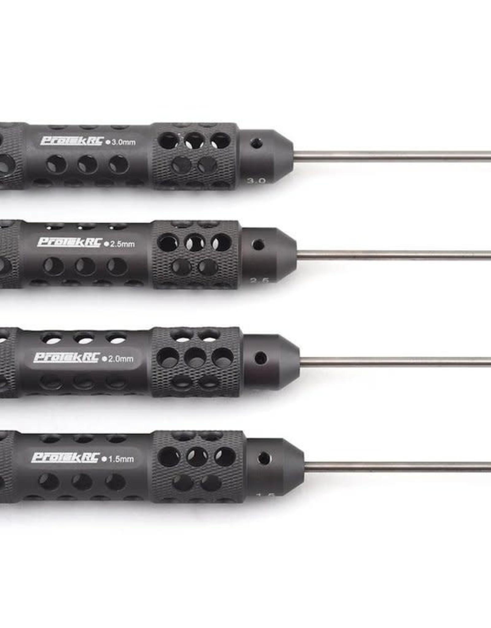 """Protek RC ProTek RC """"TruTorque SL"""" Metric Hex Driver Set (4) (1.5mm, 2.0mm, 2.5mm, 3.0mm)"""