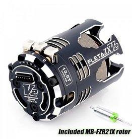 Muchmore FLETA ZX V2 13.5T ER Spec Brushless Motor w/21X