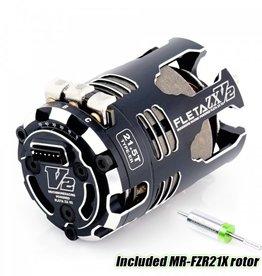 Muchmore FLETA ZX V2 21.5T ER Spec Brushless Motor w/21X
