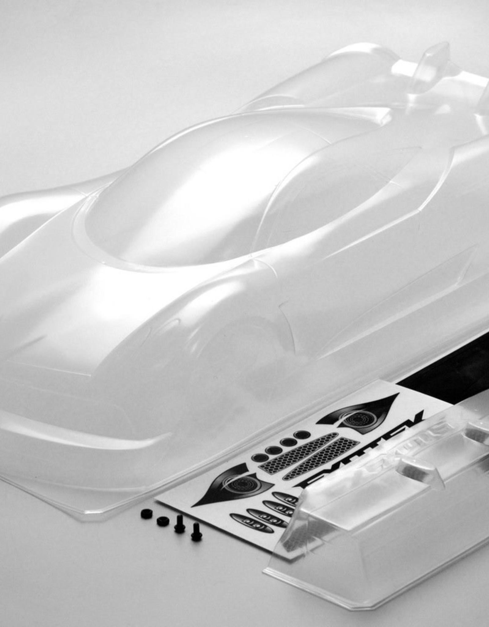 Exotek P1-Z 1/10 USGT Race Body, Clear Lexan w/ Wing