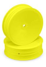 "JConcepts Mono 2.2"" 1/10 Buggy Slim Front Wheel, Yellow"