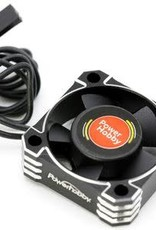 Power Hobby 30x30x10 Tornado High Speed Aluminum RC Cooling Fan 30MM-Black