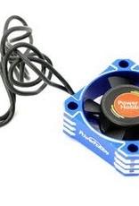 Power Hobby 30x30x10 Tornado High Speed Aluminum RC Cooling Fan 30MM-Blue