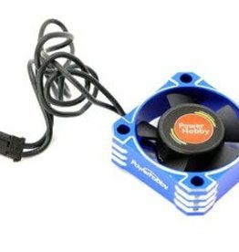 Power Hobby 30x30x10 Tornado High Speed Aluminum RC Cooling Fan 30MM-Blue