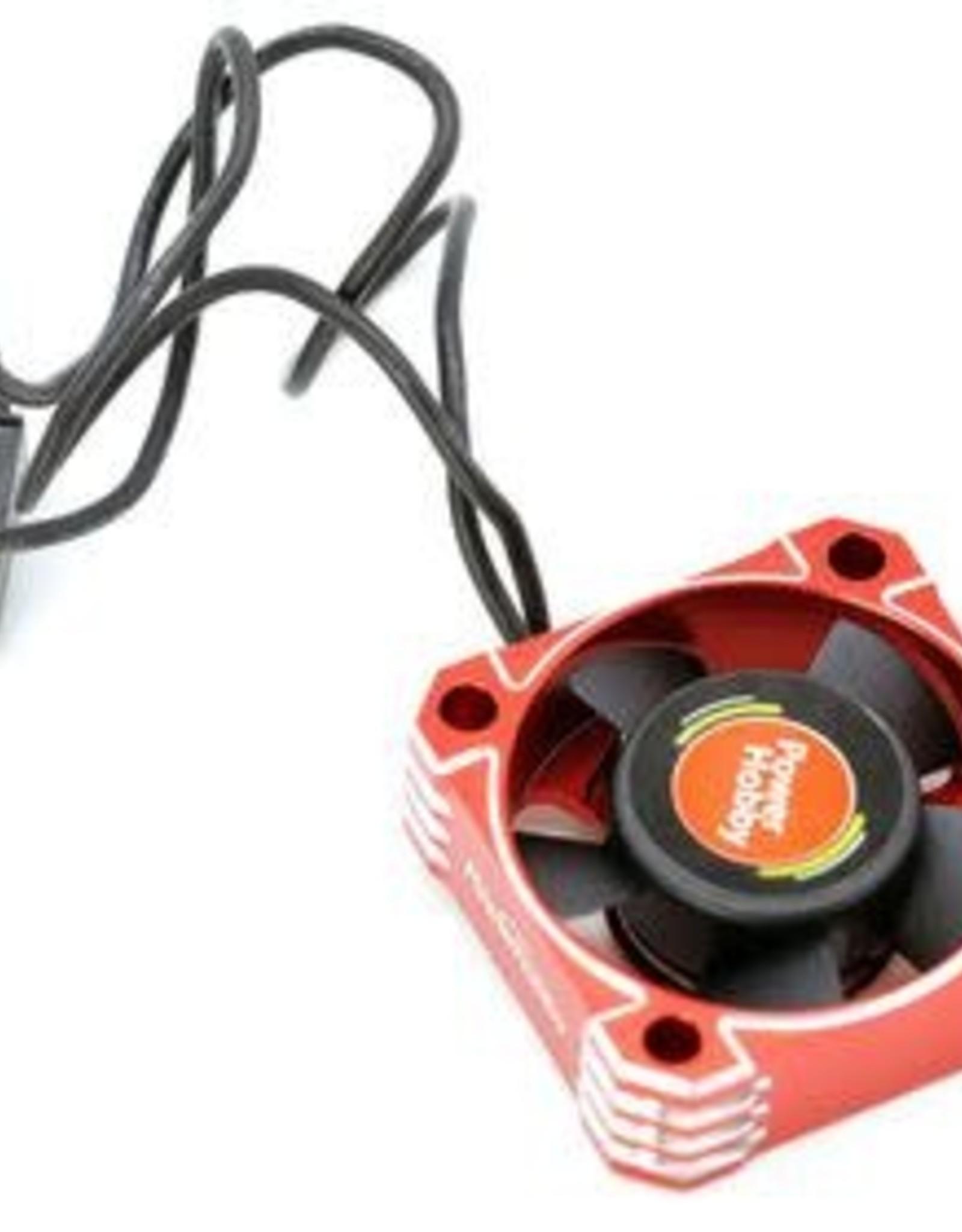Power Hobby 30x30x10 Tornado High Speed Aluminum RC Cooling Fan 30MM-Red