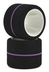 "CRC CRC ""WGT Stripe"" 1/12 Spec Rear Tire (2) (Purple)"