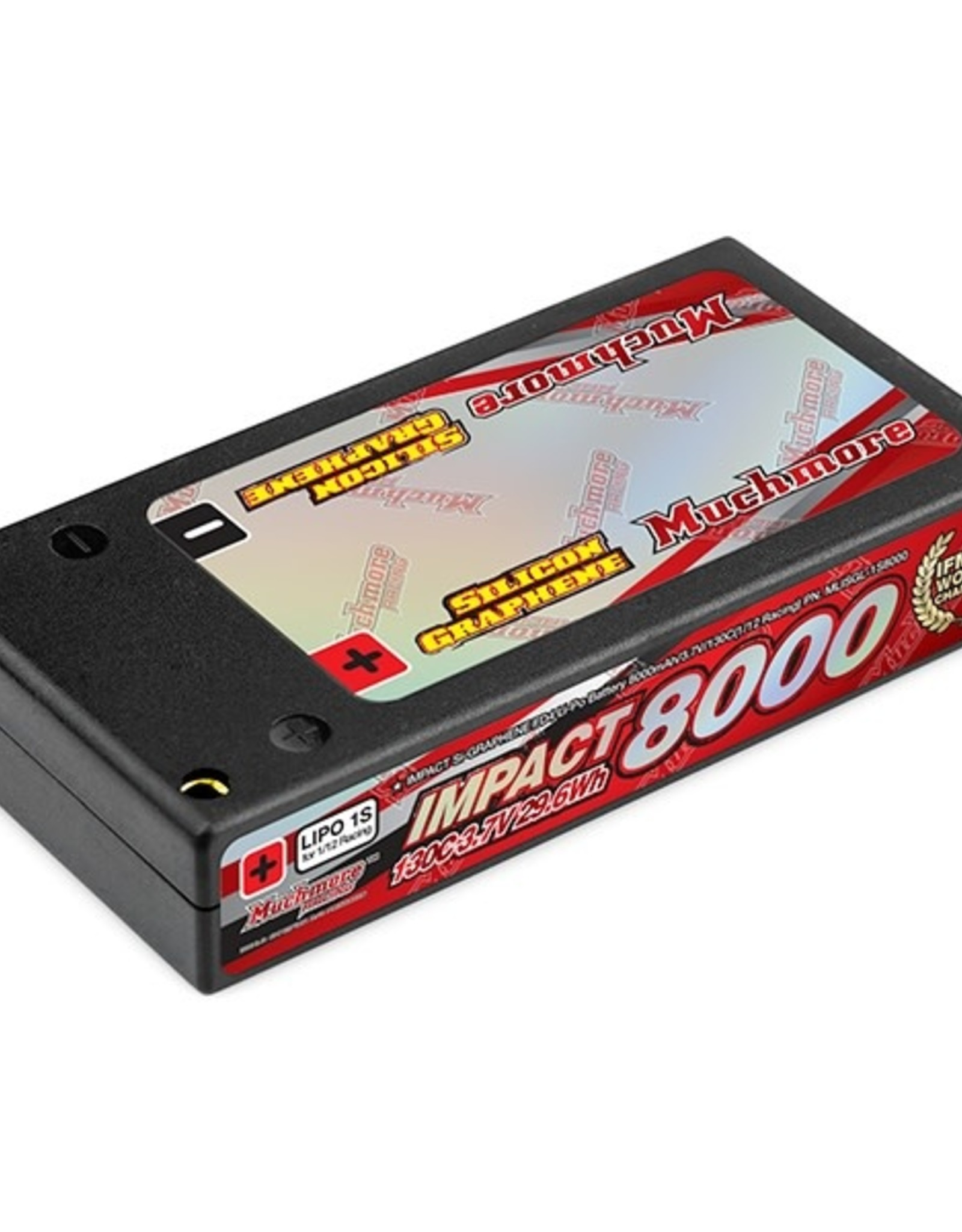 Muchmore IMPACT [Silicon Graphene] FD4 Li-Po Battery 8350mAh/3.7V 130C Hard Case (1/12 Racing)