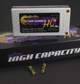 Trinity High Capacity Battery Pack, 1S 3.7v 7700mah 100C, w/ 5mm Bullets