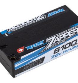 Reedy Reedy Zappers SG3 6100mAh 85C 7.6V Shorty Battery Pack