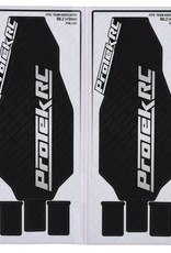 """JConcepts ProTek RC Associated B6.2 (+3mm) """"Thick"""" Precut Chassis Protective Sheet (2)"""