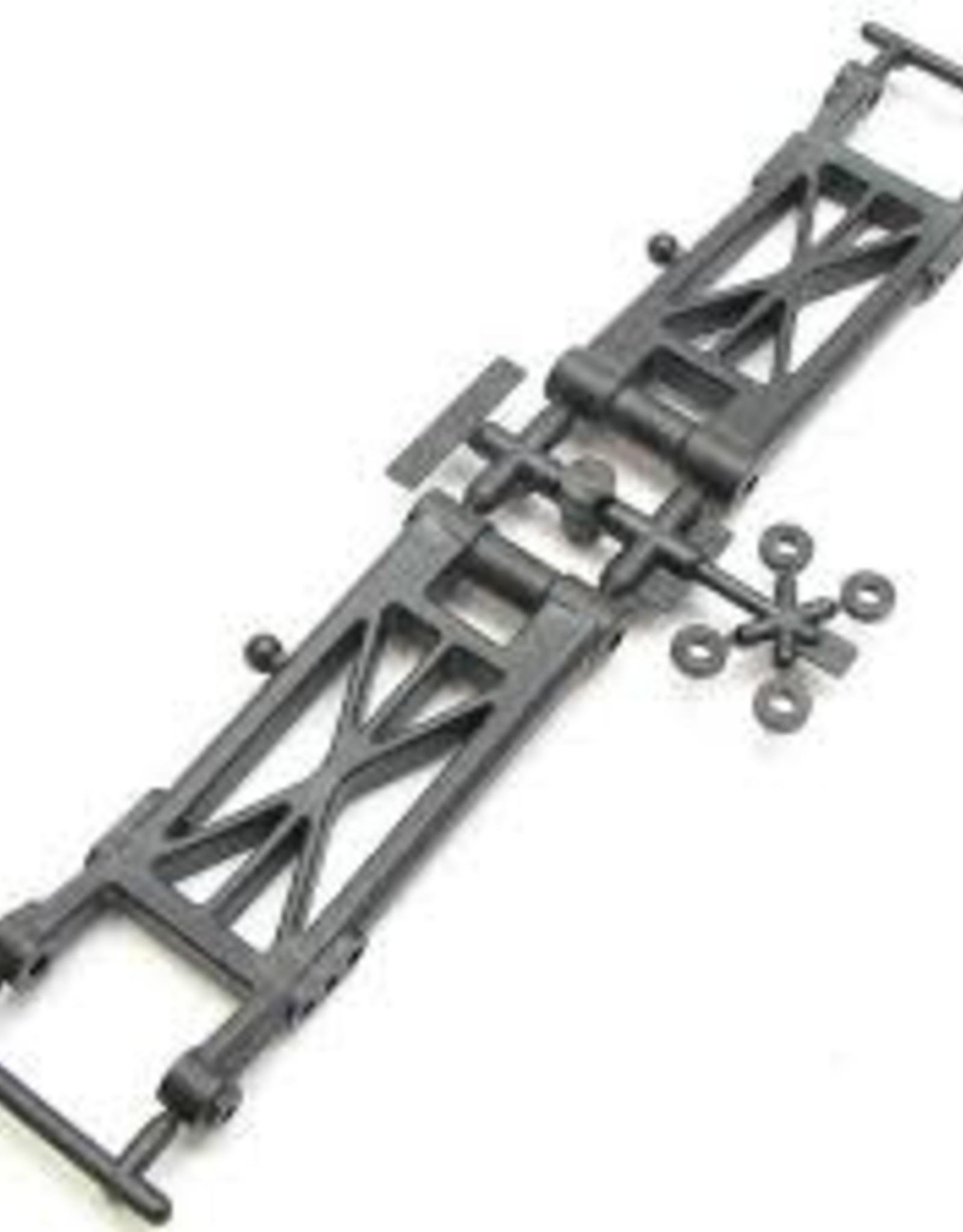 Sworkz S12-2 FR Lower Arm Set Carbon Composite Material (Hard)