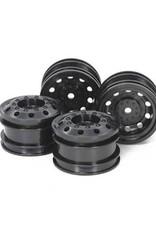 Tamiya Tamiya TT-01 Type-E Racing Truck Wheels (Black) (4) w/12mm Hex