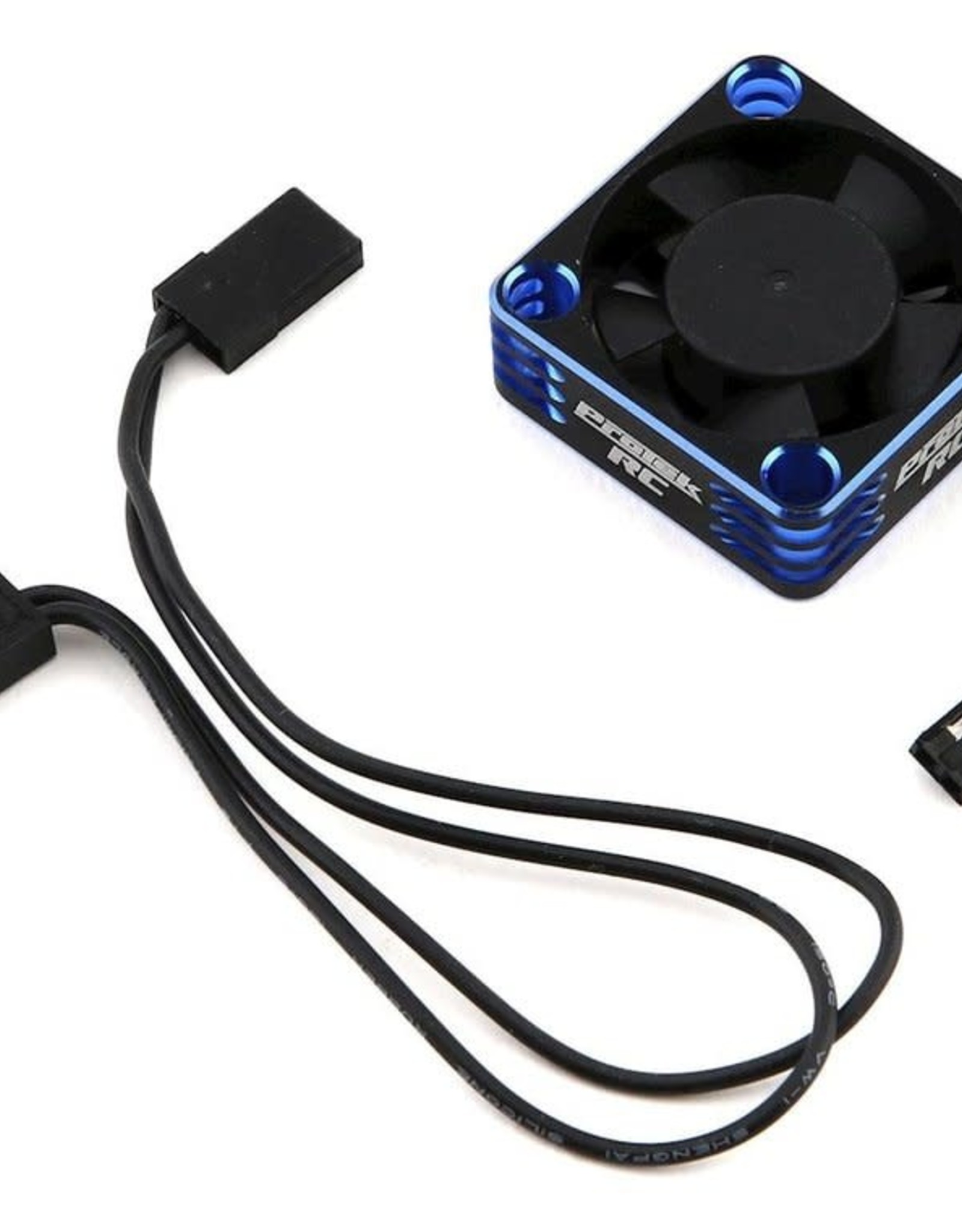 Protek RC ProTek RC 30x30x10mm Aluminum High Speed HV Cooling Fan (blue/Black)