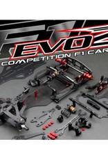 Roche Roche Rapide F1 EVO2 1/10 Competition F1 Car Kit, USA Spec (Alum Chassis)