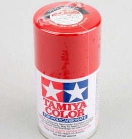 Tamiya Tamiya PS-60 Bright Mica Red Lexan Spray Paint (100ml)
