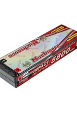 Muchmore IMPACT Silicon Graphene Super LCG FD4 Li-Po Battery 5800mAh/7.4V 130C Flat Hard Case