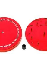 Exotek Exotek G.LOK Gear Locker Pinion & Spur Gear Case w/Parts Tray (Red)