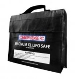 Common Sense Rc Magnum XL Lipo Safe Charging / Storage Bag
