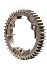 TRAXXAS SPUR GEAR, 46-T STEEL 1.0 MP Spur gear, 46-tooth, steel (wide-face, 1.0 metric pitch)