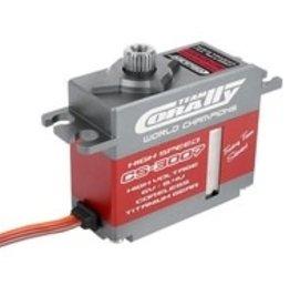 corally CS-3007 High Voltage/High Speed Mini Coreless Aluminum Case Digital Servo .07/87 oz. @ 7.4v