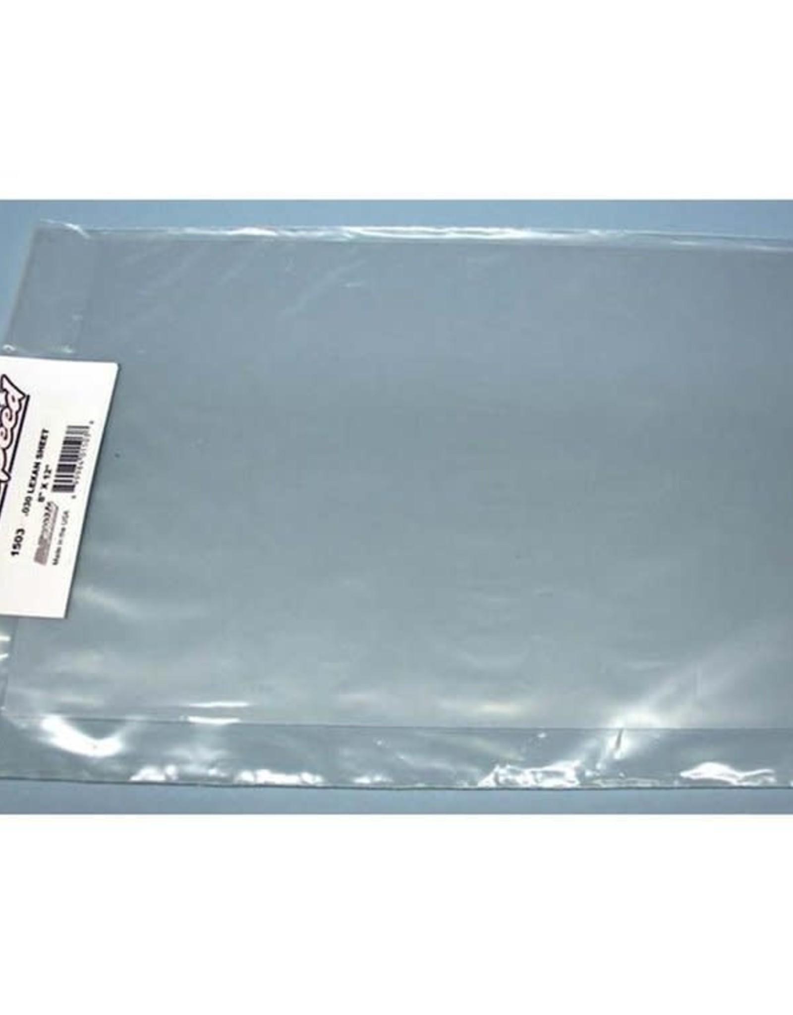 RJ Speed RJ Speed Lexan Sheet 8x12 .040 (Clear)
