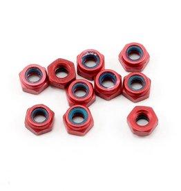 CRC CRC 4-40 Aluminum Locknut (Red) (10)