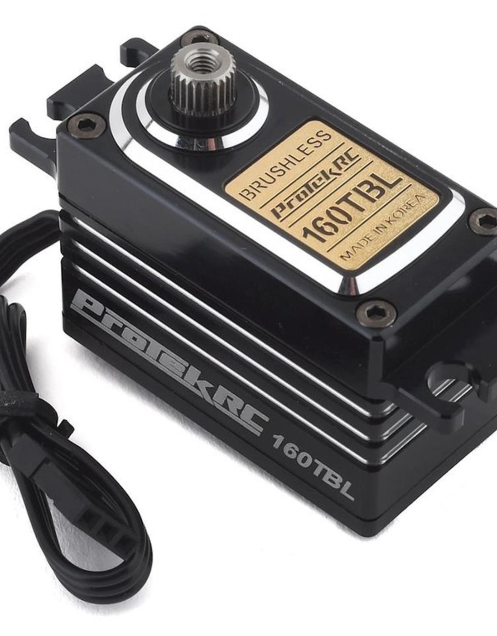 """Protek RC ProTek RC 160TBL """"Black Label"""" Low Profile High Torque Brushless Servo (High Voltage/Metal Case)"""