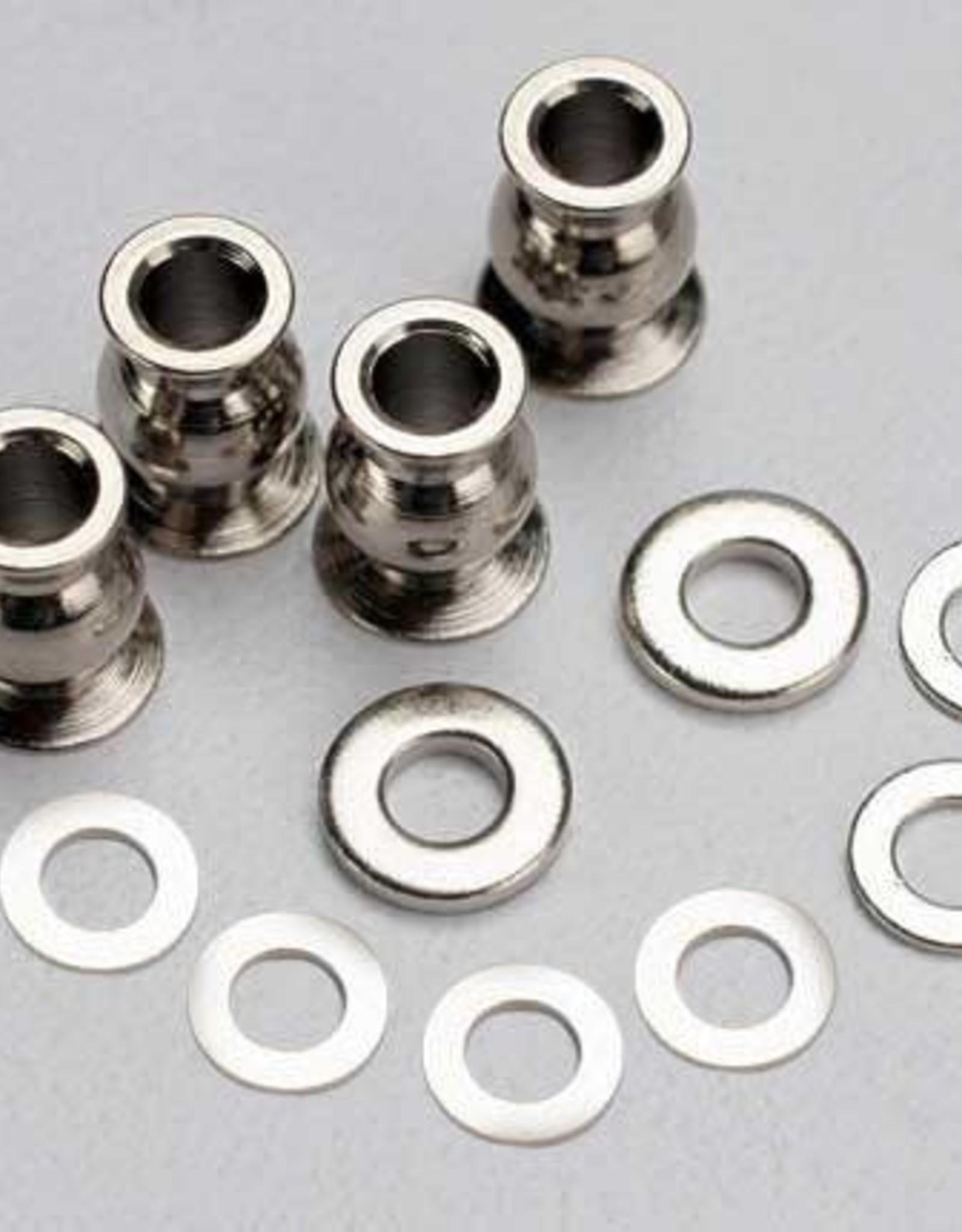 TRAXXAS SHIM SET/HALLOW BALLS (4) Shim set, 3x7x1mm (2), 3x6x0.5mm (4), 3x7x2mm (2)/ hollow balls, captured (4)