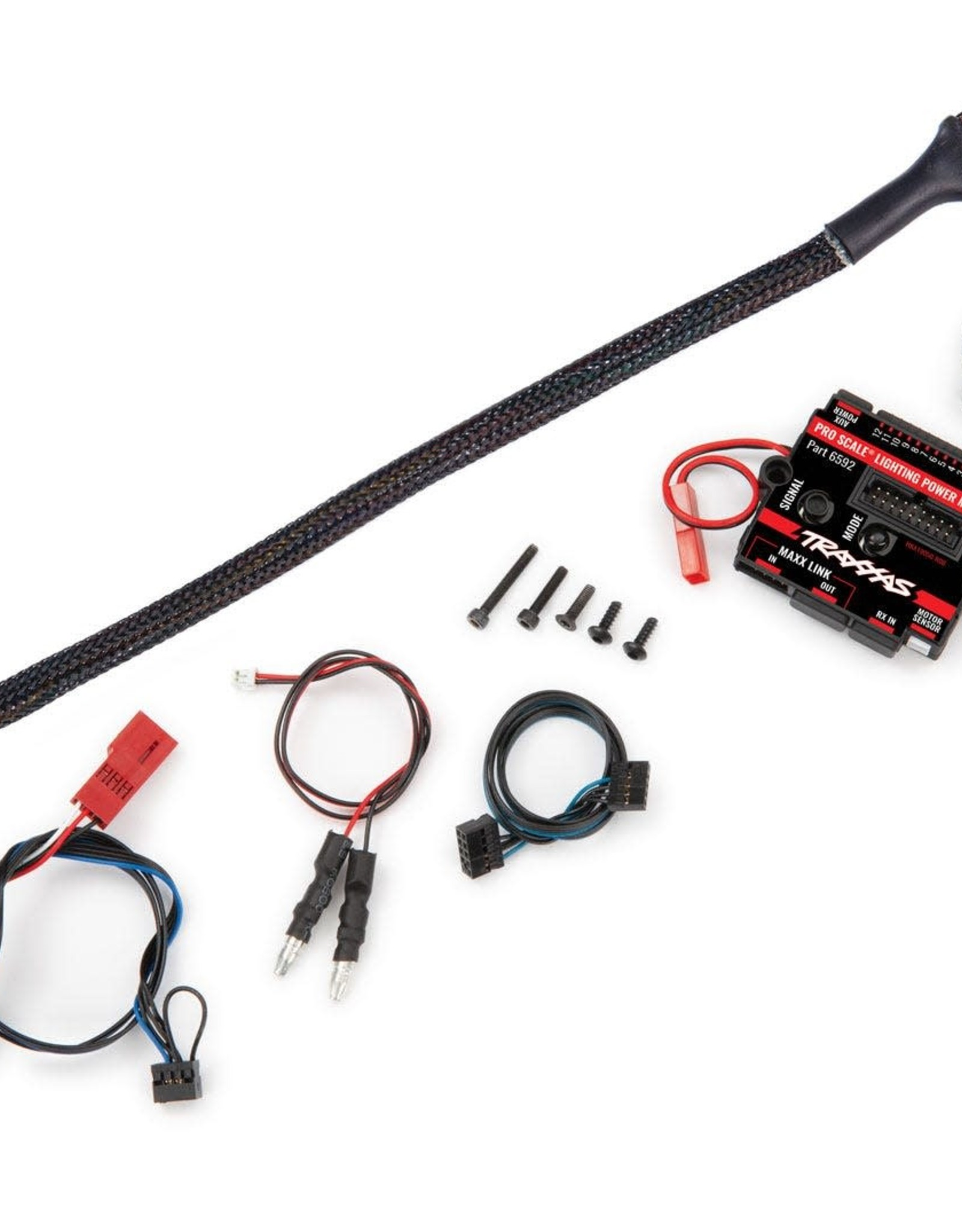 TRAXXAS PRO SCALE LED SYSTEM W/ MODULE Pro Scale® Advanced Lighting Control System (includes power module & distribution block)