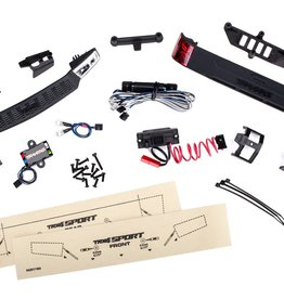 TRAXXAS LED LIGHT KIT CMPLT 8111/8112 LED light set, complete with power supply (contains headlights, tail lights, & distribution block) (fits #8111 or #8112 body)