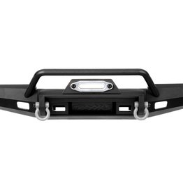 TRAXXAS Bumper, front, winch, medium (includes bumper mount, D-Rings, fairlead, hardware) (fits TRX-4® 1979 Bronco and 1979 Blazer with 8855 winch) (217mm wide)