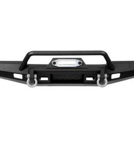TRAXXAS Bumper, front, winch, wide (includes bumper mount, D-Rings, fairlead, hardware) (fits TRX-4® 1969-1972 Blazer with 8855 winch) (227mm wide)