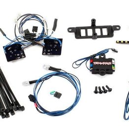 TRAXXAS LED light set (contains headlights, tail lights, roof lights, and distribution block) (fits #8811 or #8825 body, requires #8028 power supply)