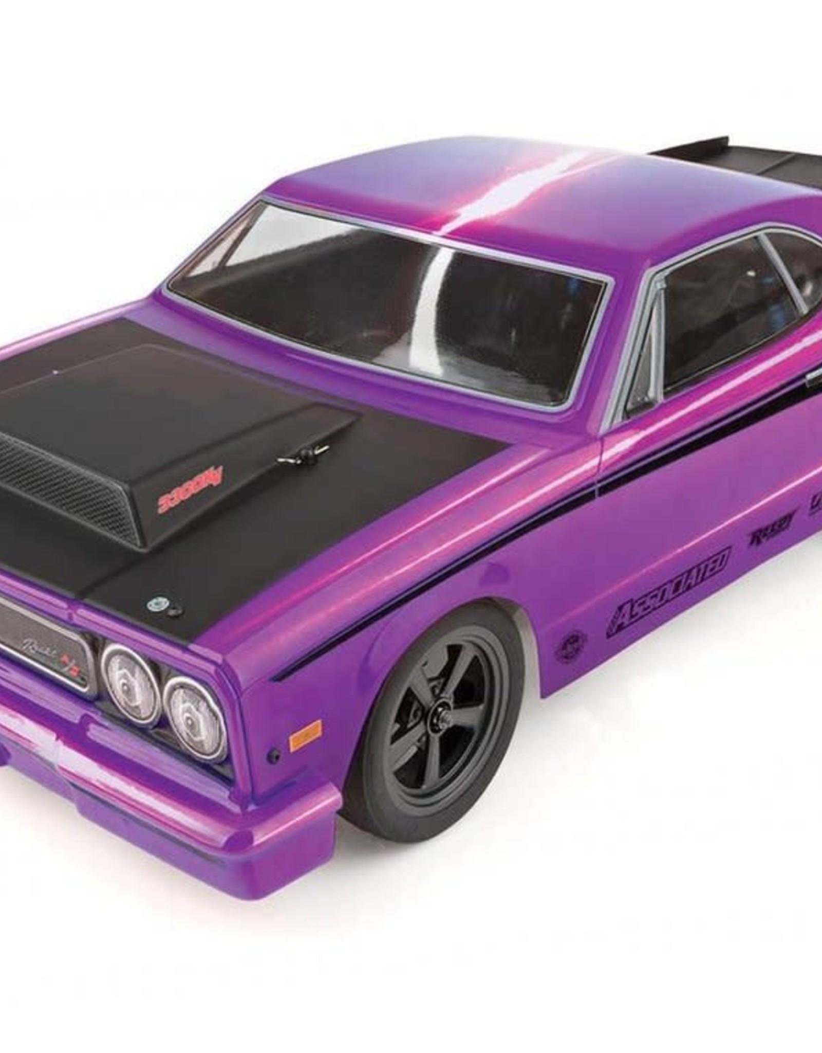Associated Team Associated DR10 RTR Brushless Drag Race Car (Purple) w/2.4GHz Radio & DVC