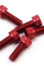 CRC CRC 4-40x5/16 Socket Head Aluminum Screws (Red) (6)