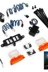 TRAXXAS LED light set (contains headlights, tail lights, side marker lights, & distribution block) (fits #8010 body, requires #8028 power supply)