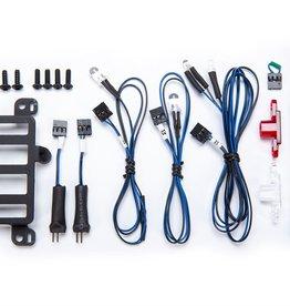 TRAXXAS Installation kit, Pro Scale® Advanced Lighting Control System, TRX-4® Mercedes-Benz® G 500® & G 63® (includes mount, rear bumper lens, turn signal, reverse light & fog light harnesses, hardware)